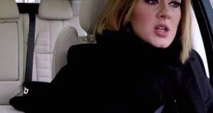Adele car ride karaoke