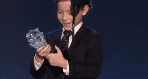 Jacob Tremblay award speech video