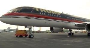 Trump jet 757
