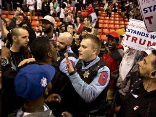 Trump demonstration