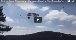 humvee air drop
