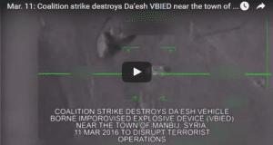 Air strike on ISIS