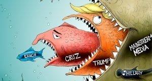 Jaws - A.F. Branco political cartoon