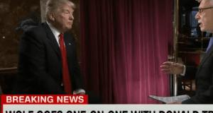 Donald trump on debt