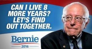 Can Bernie Live 8 Years
