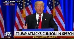 Donald Trump speech on Clinton corruption 6-22-16