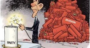 Obama lights fuse