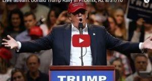Donald Trump Rally in Phoenix, AZ 8-31-16 live stream