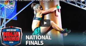 Jessie Graff wins American Ninja stage 1