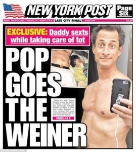 Weiner sexts again