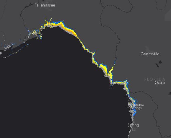 Hermine storm surge 9-1 1100