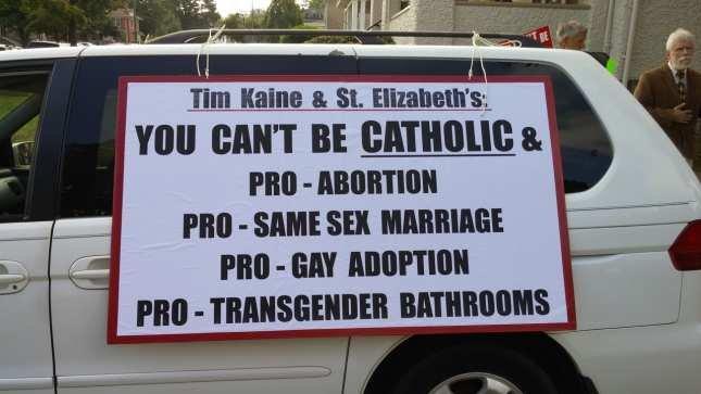 Photo of Tim Kaine: Catholic of Convenience
