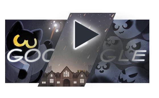google-halloween-doodle-game