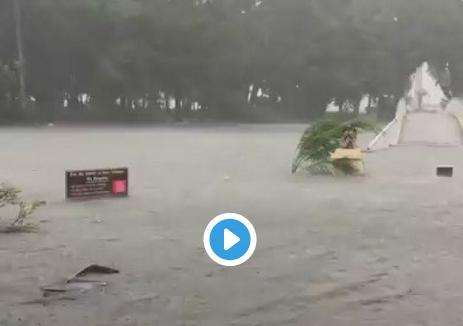 Photo of Hurricane Matthew's fury in Florida: damage pics and NHC website crashes
