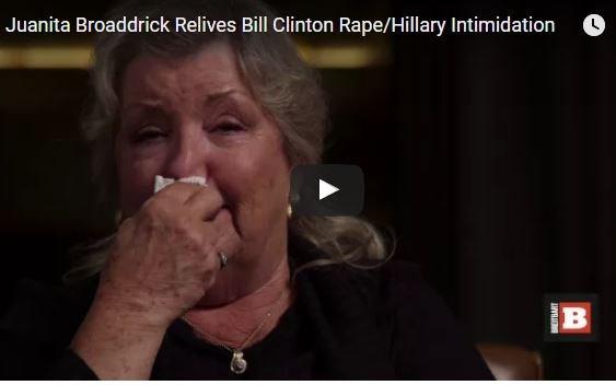 Photo of Juanita Broaddrick 'Still Afraid' in Retelling of Bill Clinton's Rape of Her and Hillary's Bullying [Video]