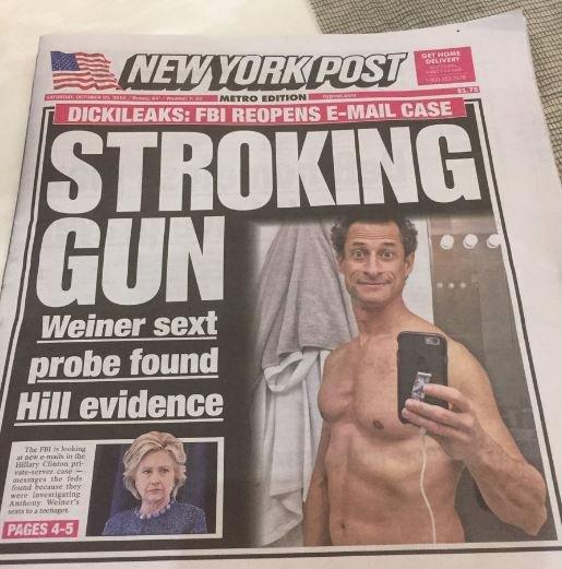 ny-post-dickileaks-stroking-gun-10-29-16-anthony-weiner