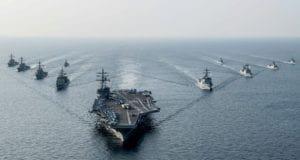 u-s-s-reagan-steams-with-south-korean-navy