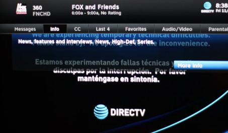 Photo of AT&T Responds to DirecTV outage of Fox News