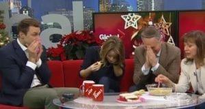 Bad artichoke dip on TV