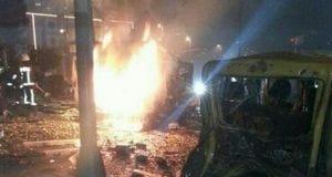 Explosion Istanbul Turkey