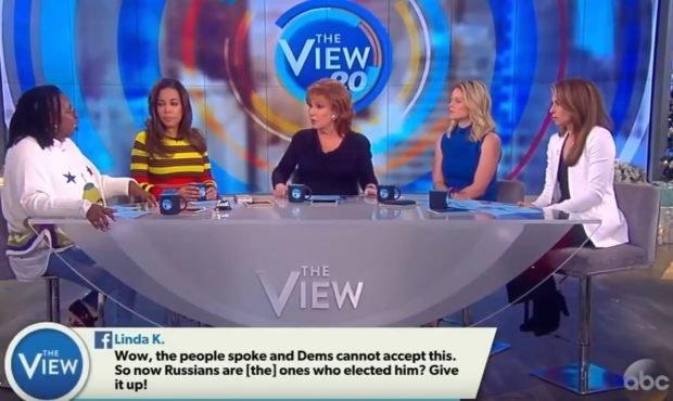 JOy Behar demands Donald Trump step down - again