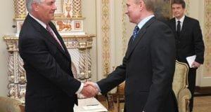 Rex Tillerson and Vladimir Putin - premier.gov.ru