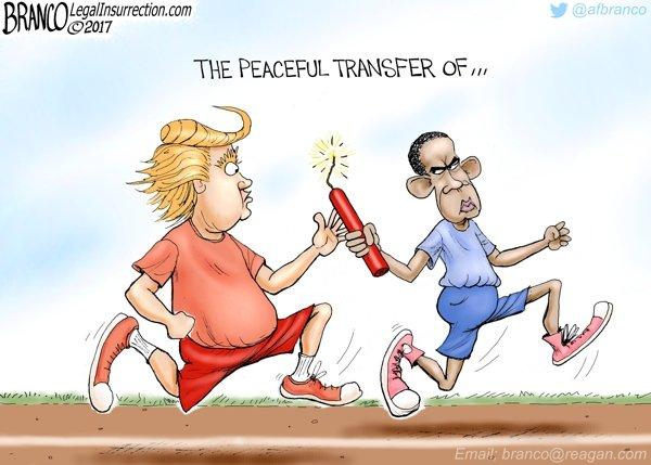 A Peaceful Transfer...