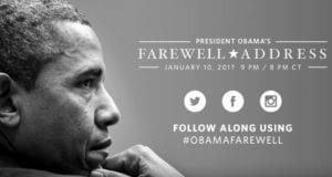 Barack Obama farewell speech 01-10-17