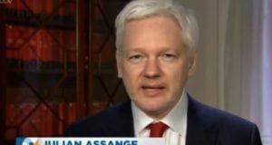Julian Assange Peston interview