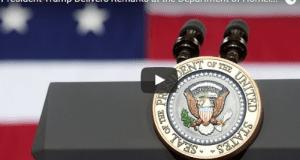 President Trump speech Department of Homeland Security 01-25-2017
