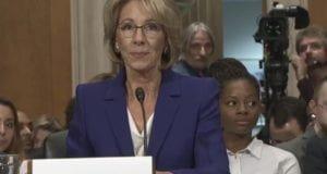 Senate Confirmation Hearing Betsy Devos