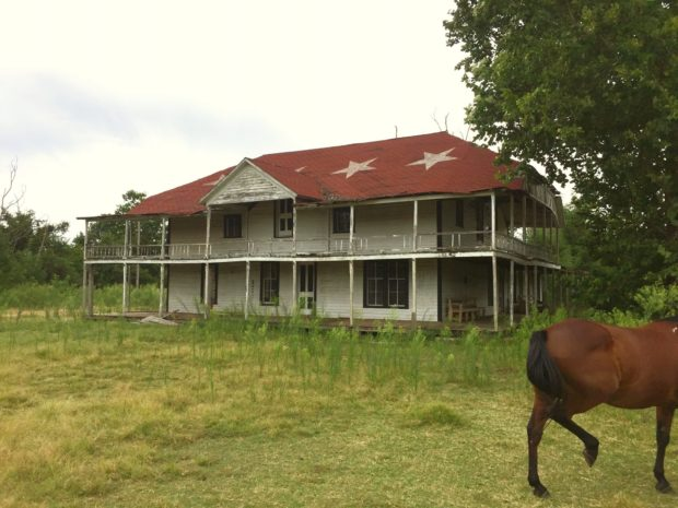 Photo of Quanah Parker's House Joins Geronimo's Teepee