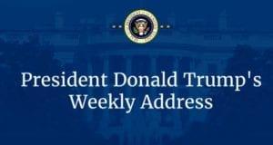 President Donald Trump's weekly address 02-25-17