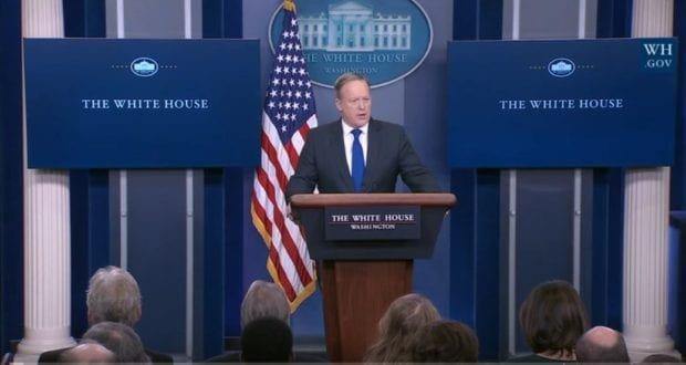 Sean Spicer White House Press Briefing