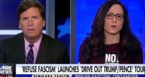 Tucker Carlson Interviews Crazy Anti-Trumper