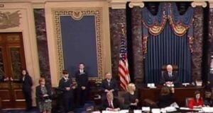 U.S. Senate Votes on Betsy DeVos