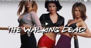 Walking Dead Season 7 Intro to Friends Theme