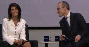 Ambassador Nikki Haley interview AIPAC 2017