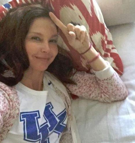 Ashley Judd political basketball