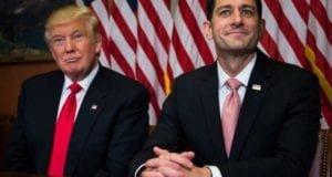 Donald Trump and Paul Ryan