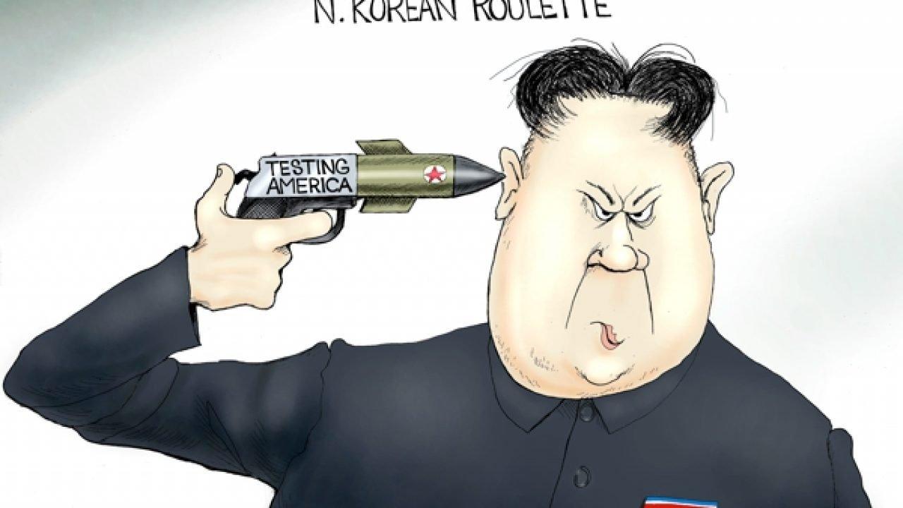 Image result for branco cartoons kim fires missiles