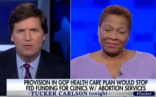 Jehmu Greene on abortion Tucker Carlson tonight
