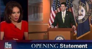 Judge Jeanine Pirro demands Paul Ryan step down