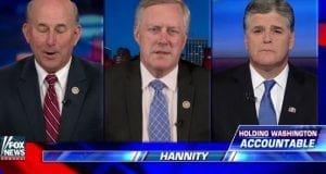Mark Meadows Louis Gohmert Sean Hannity