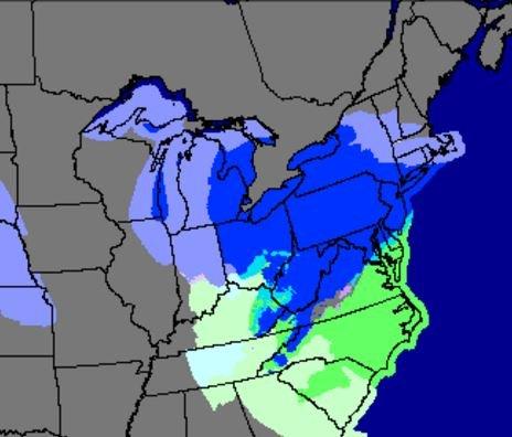 NDFD Forecast 2am 3-14-17