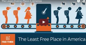 Least diverse place in America
