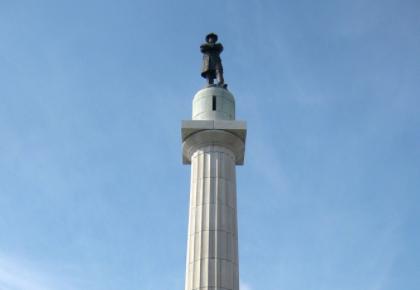 New Orleans Robert E. Lee statue lee circle
