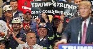 Donald Trump Digs Coal