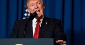 Trump givng speech