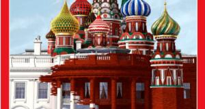 Time Magazine Cover White House Kremlin